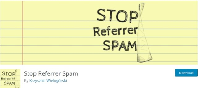stop referrer spam