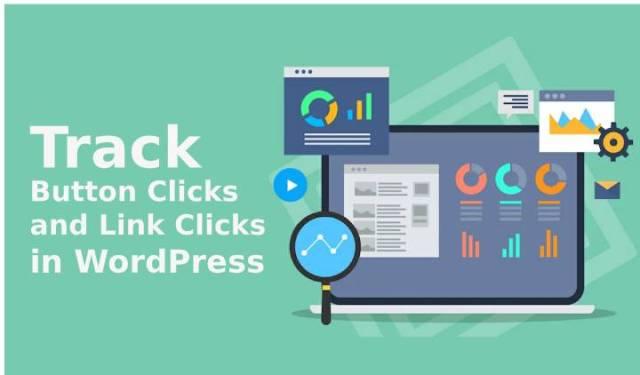 Button clicks and link clicks