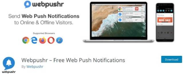 Webpushr
