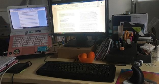 Yvette Sonneveld workstation