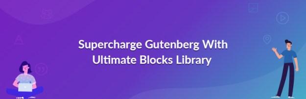 ultimate addons for gutenberg