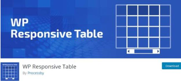 wp responsive table