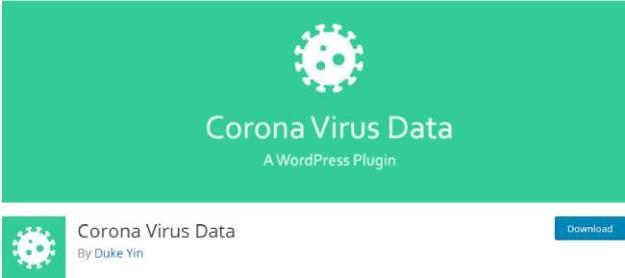 Corona Virus Data
