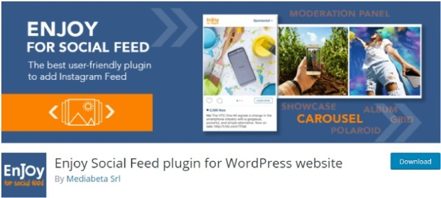 Enjoy Social Feed plugin