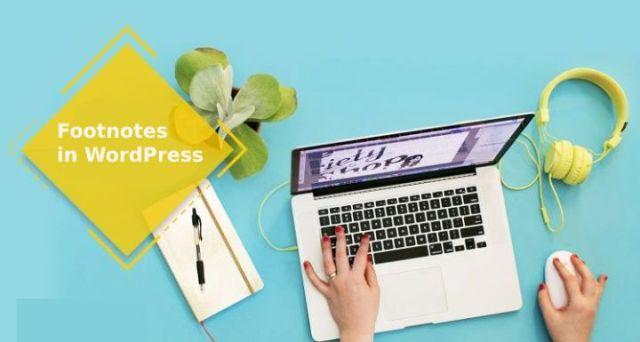 Footnotes in WordPress