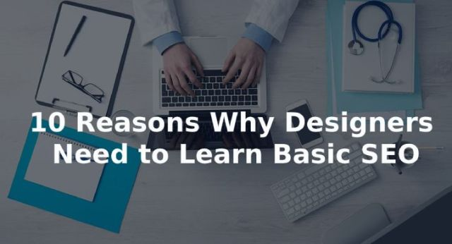 designer to learn basic SEO