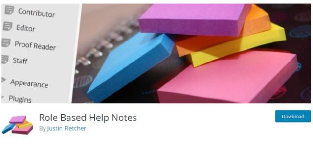 role based help notes