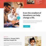 Donation WordPress theme