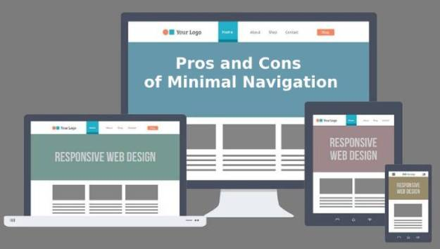 pros and cons of minimal navigation