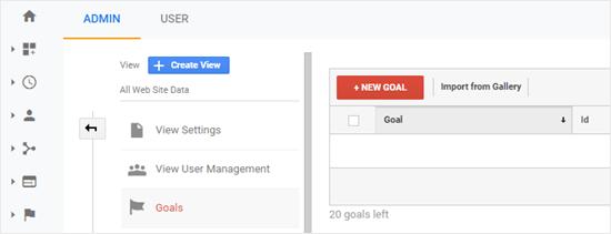 Form New Goal
