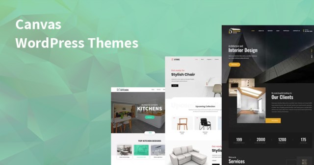 canvas WordPress themes