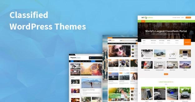 classified WordPress themes