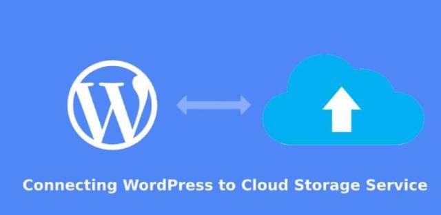 connecting WordPress to cloud storage