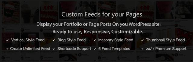 The Awesome Feed – Custom Feed