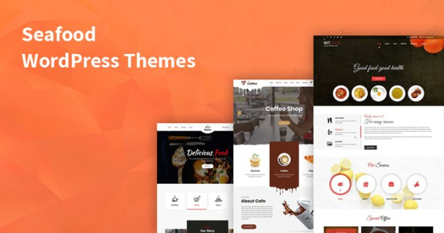 seafood WordPress themes