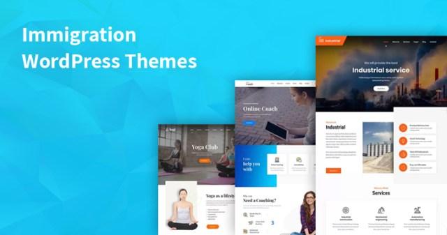 Immigration WordPress Themes