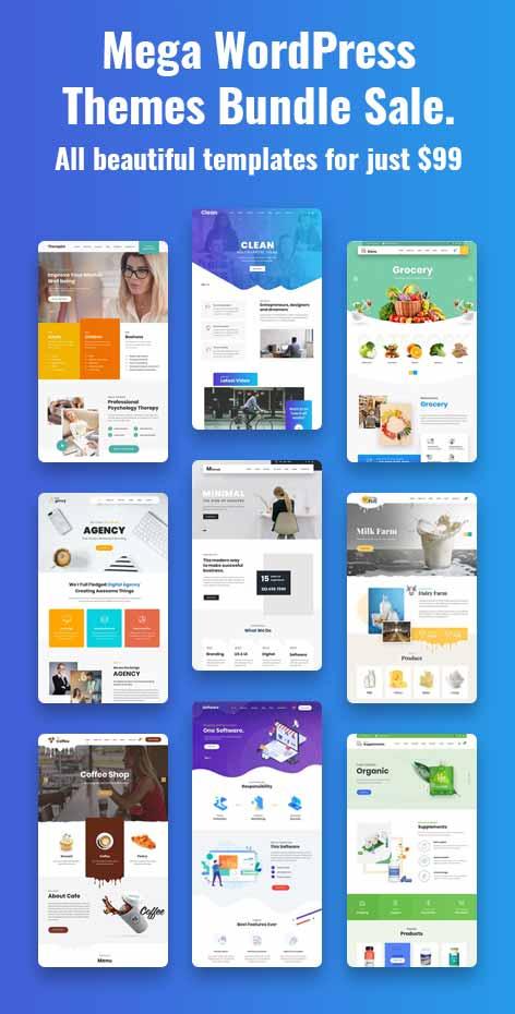 WordPress All Themes Bundle