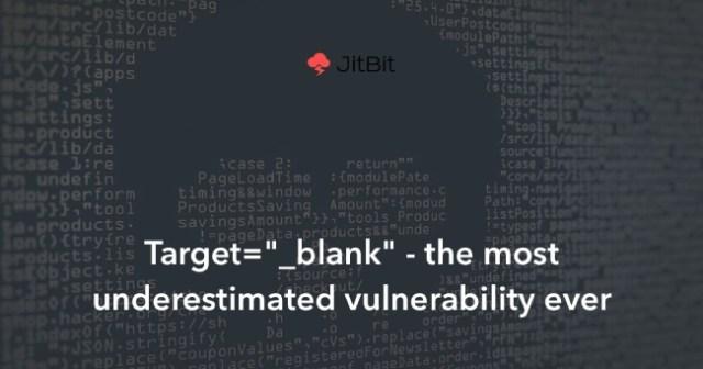 blank target vulnerability