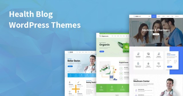 health blog WordPress themes