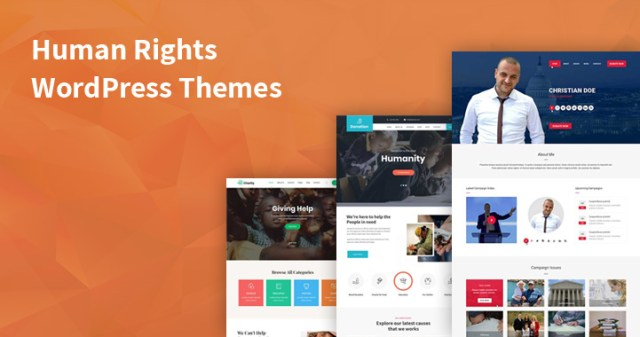 human rights wordpress themes