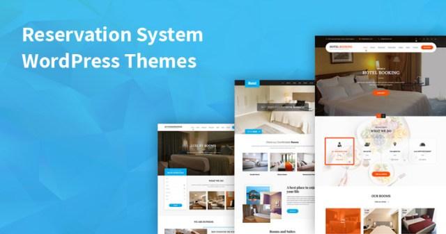 reservation system WordPress themes