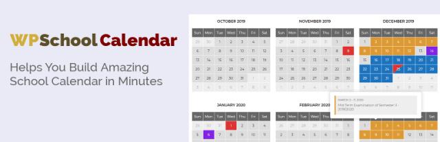 WP School Calendar