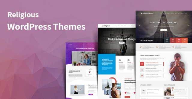 religious WordPress themes