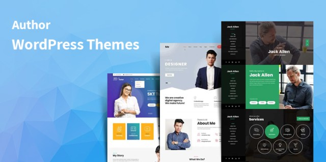 Author WordPress themes