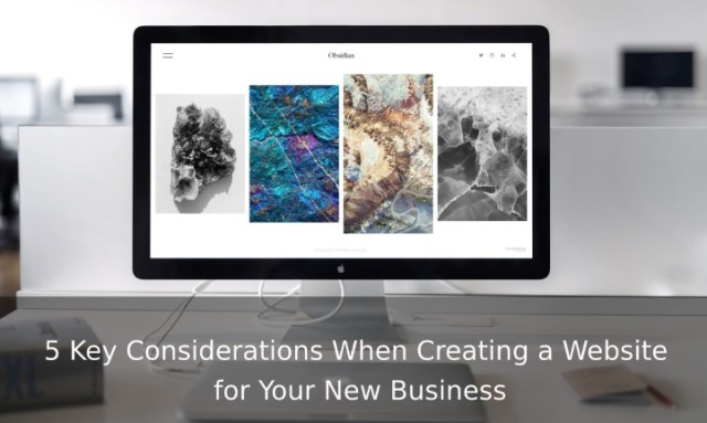Creating a Website for Your New Business
