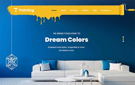 Painting Company WordPress theme