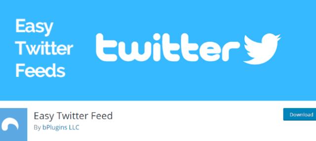 easy twitter feeds