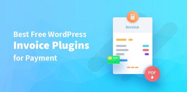Best Free WordPress Invoice Plugins