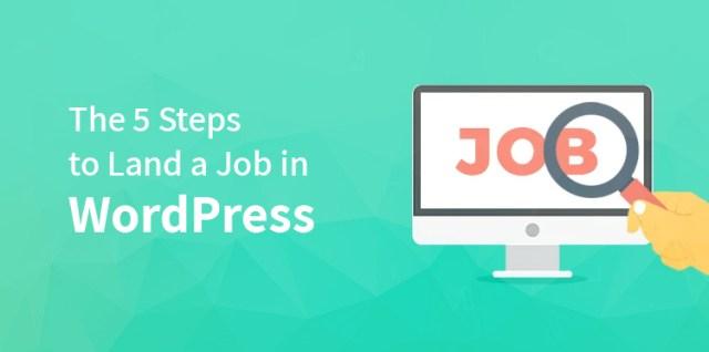 Land a Job in WordPress