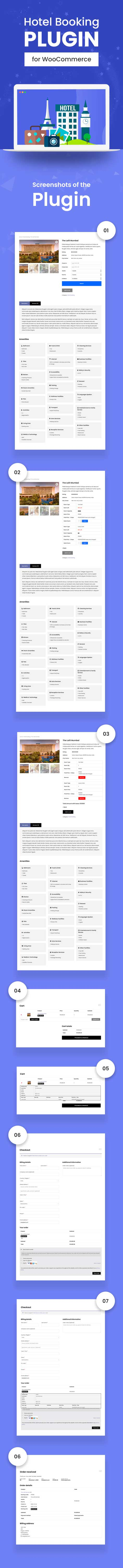 WooCommerce Hotel Booking Plugin
