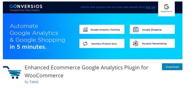 Enhanced ecommerce google plugin