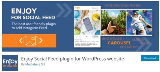 Enjoy Social Feed plugins