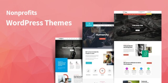 WordPress themes for nonprofits