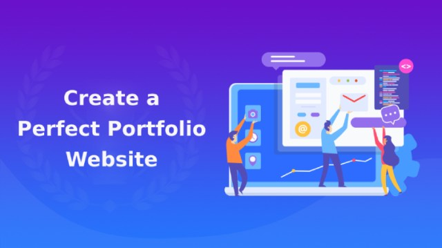 create a perfect portfolio website
