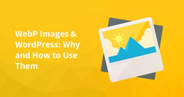 WebP images & WordPress