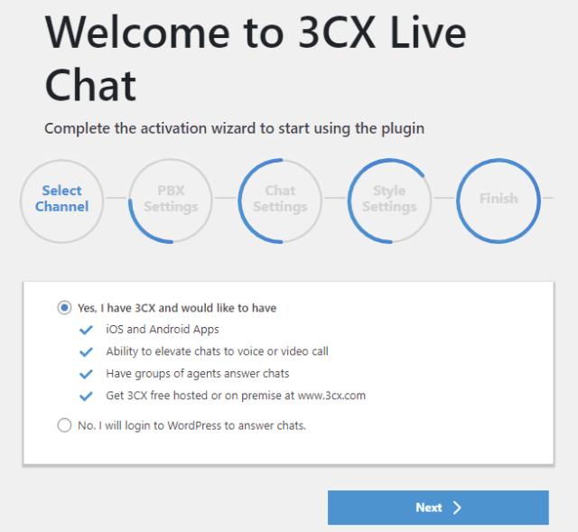 3cx install