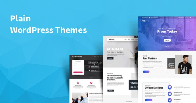Plain WordPress Themes
