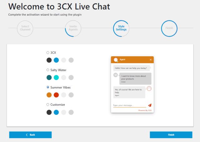live chat 3cx