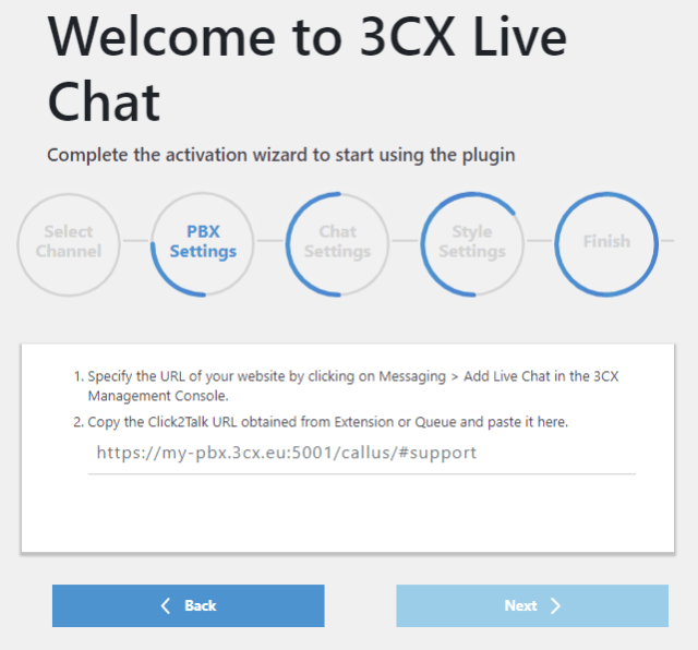 welcome 3cx