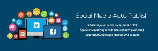 Social media auto publish