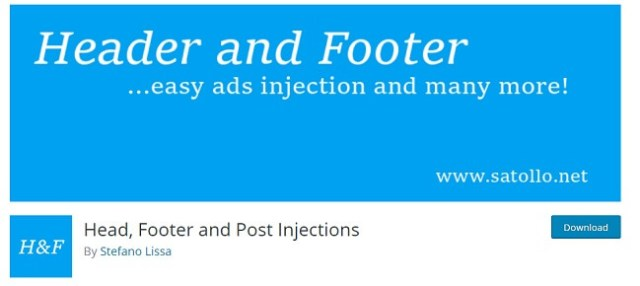 header footer and post injection by stefano lissa