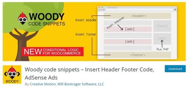 woody code snippets