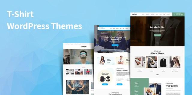 T-Shirt WordPress Themes