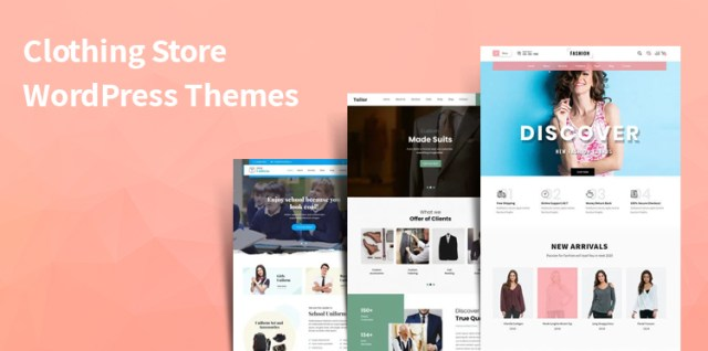 Clothing Store WordPress Themes