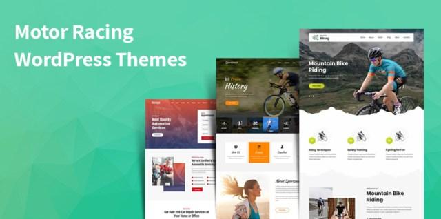 motor racing WordPress themes