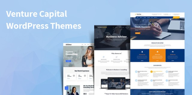 venture capital WordPress themes